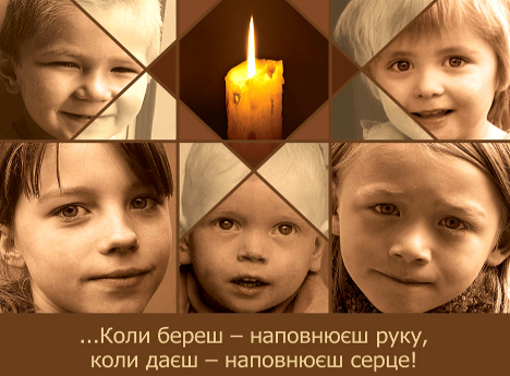 Christmas Candle appeal for children in Ukraine