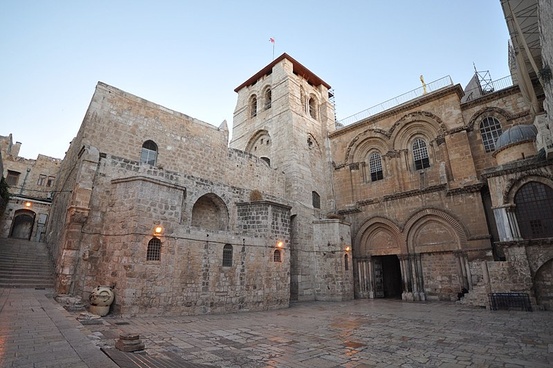 Church of the Resurrection, Jerusalem.