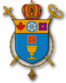 The crest of the Eparchy of New Westminster
