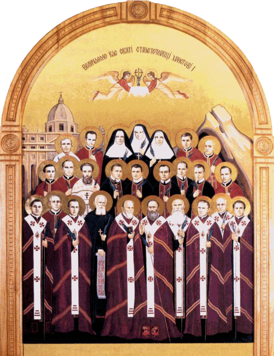 Blessed Mykolay Charnetskyy and Companions