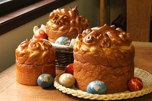 Paska, Ukrainian Easter bread